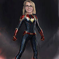 Angie-Captain Marvel